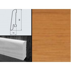 Плинтус шпонированный Burkle Бамбук кофе 60x15