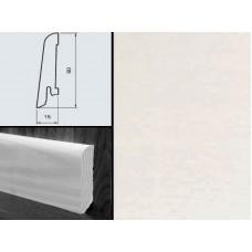 Плинтус шпонированный Burkle Белый 60x15