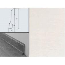 Плинтус шпонированный Burkle Белый 80x20