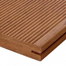 Террасная доска Coswick Ятоба (Бразильская вишня) Вельвет 20x130х2650 мм