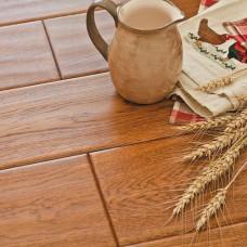 Паркетная доска Goodwin Дуб Состаренный Калахари (Oak Hand Scraped Kalahari)