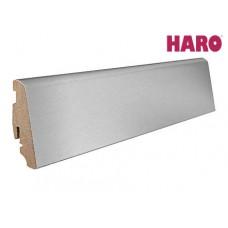 Плинтус алюминиевый Haro 19х58х2200 мм