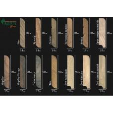 Плинтус Magestik Floor из массива дерева в цвет вашего пола