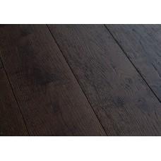 Массивная доска Magestik Floor Дуб Бренди (браш) ширина 150