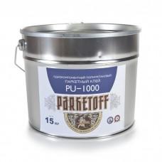 Клей для паркета Parketoff PU-1000 (однокомпонентный) 15кг