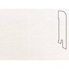 Плинтус шпонированный Pedross Белый гладкий 70x15