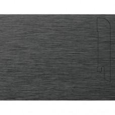 Плинтус шпонированный Pedross Алюминий темный (фольгированный) 70x15