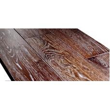 Массивная доска Sherwood Oak antique sahara 123 мм (Дуб антик сахара 123 мм)